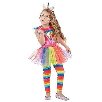 Rubies Kinder Kostum Einhorn Kleid Leggings Haarreif Fasching