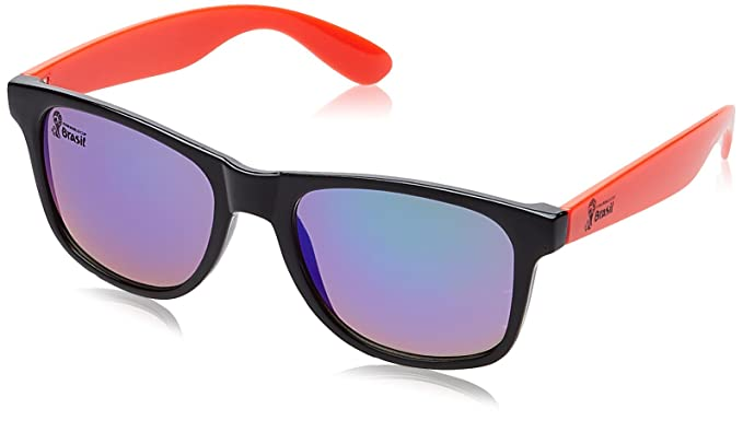 4c0dc422d57f4 Image Unavailable. Image not available for. Colour  FIFA World Cup 2014 UV  Protected Wayfarer Unisex Sunglasses ...