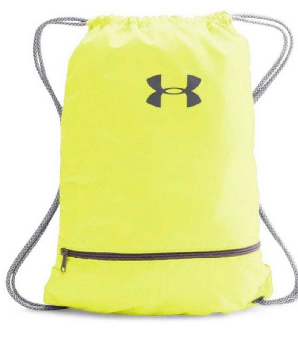 Under ArmourチームSackpack B01N247B9K One Size|High-Vis Yellow/Silver/Graphite HighVis Yellow/Silver/Graphite One Size