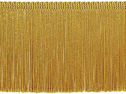 2Yards of Pack Nylon 8 Width Fringe Trim Gold