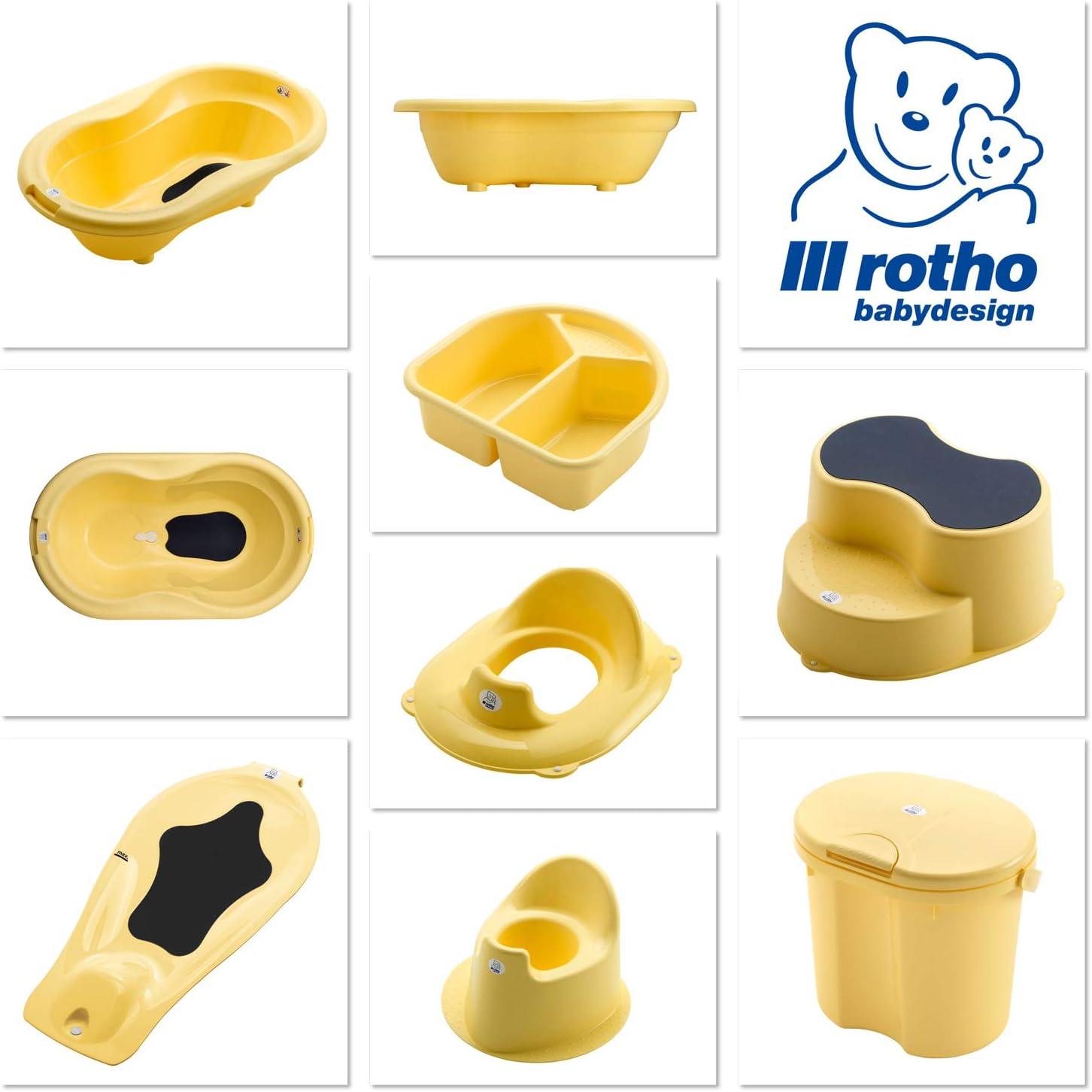 200060236 Vanilla Honey Pearl Rotho Babydesign Palangana A partir de 0 meses Amarillo 4 l TOP
