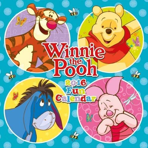 Official Winnie The Pooh (Fun) 2016 Square Wall Calendar (Disney Calendar) Calendario – Ridotto, Audiolibro, Cofanetto Danilo Danilo Promotions Limited 178054880X Non-Classifiable