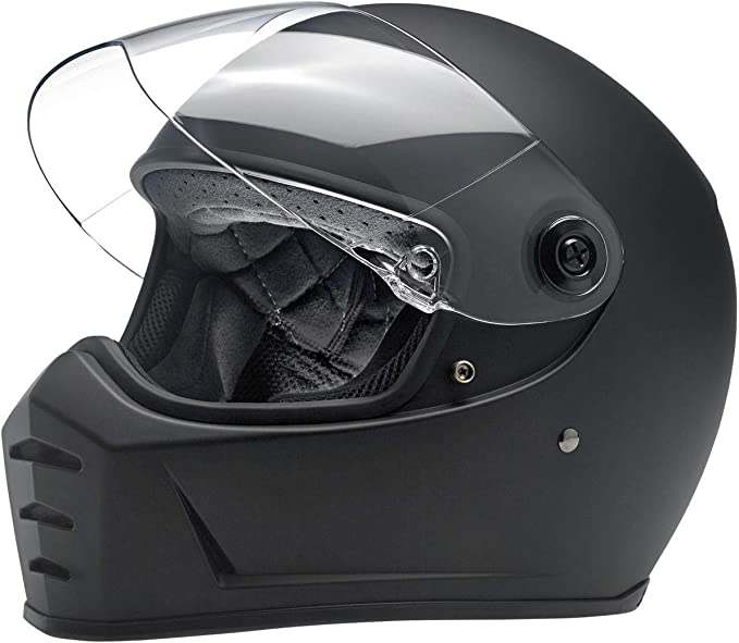 Flat Titanium, XX-Large Biltwell Unisex-Adult Full face Lane Splitter Helmet