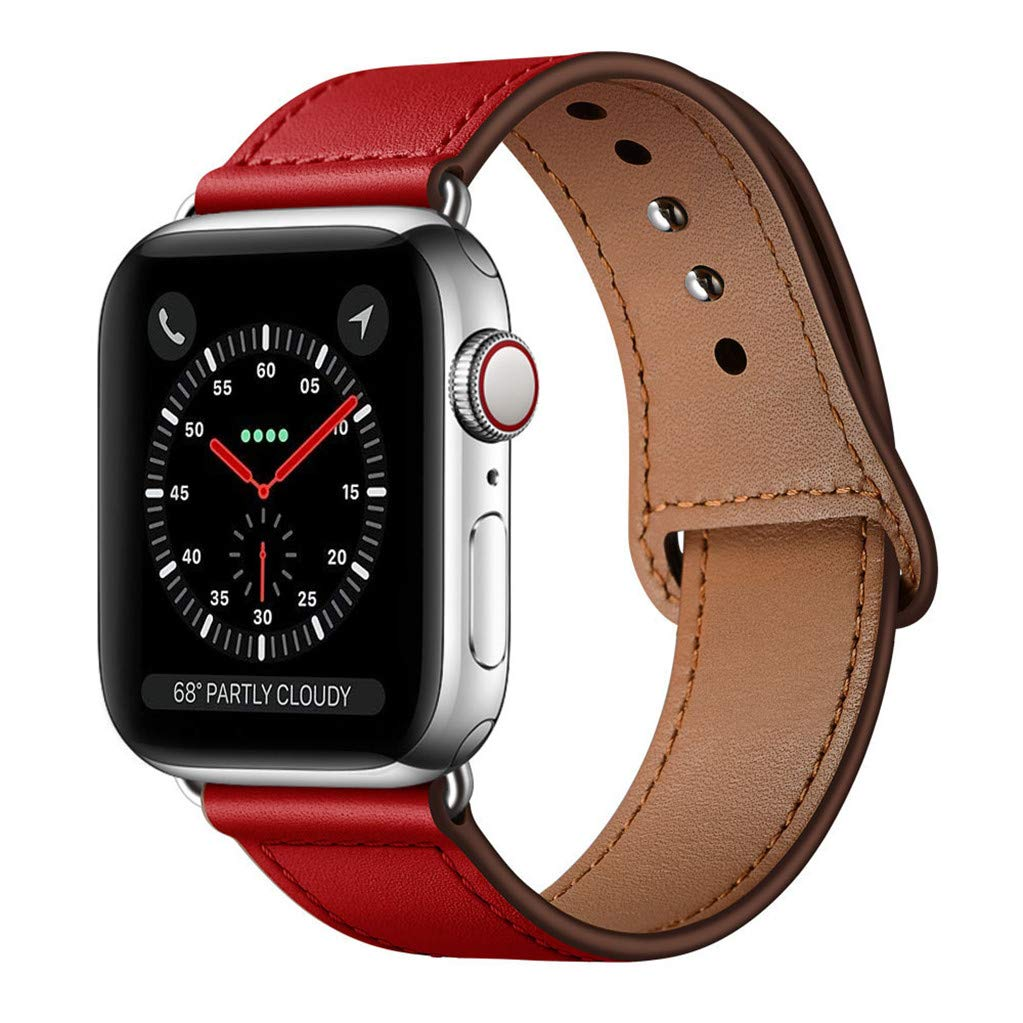 Malla Cuero para Apple Watch (38/40mm) KYISGOS [7QQ54TMJ]