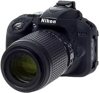 Easycover ECND5300B - Funda de Silicona para Nikon D5300, Color ...
