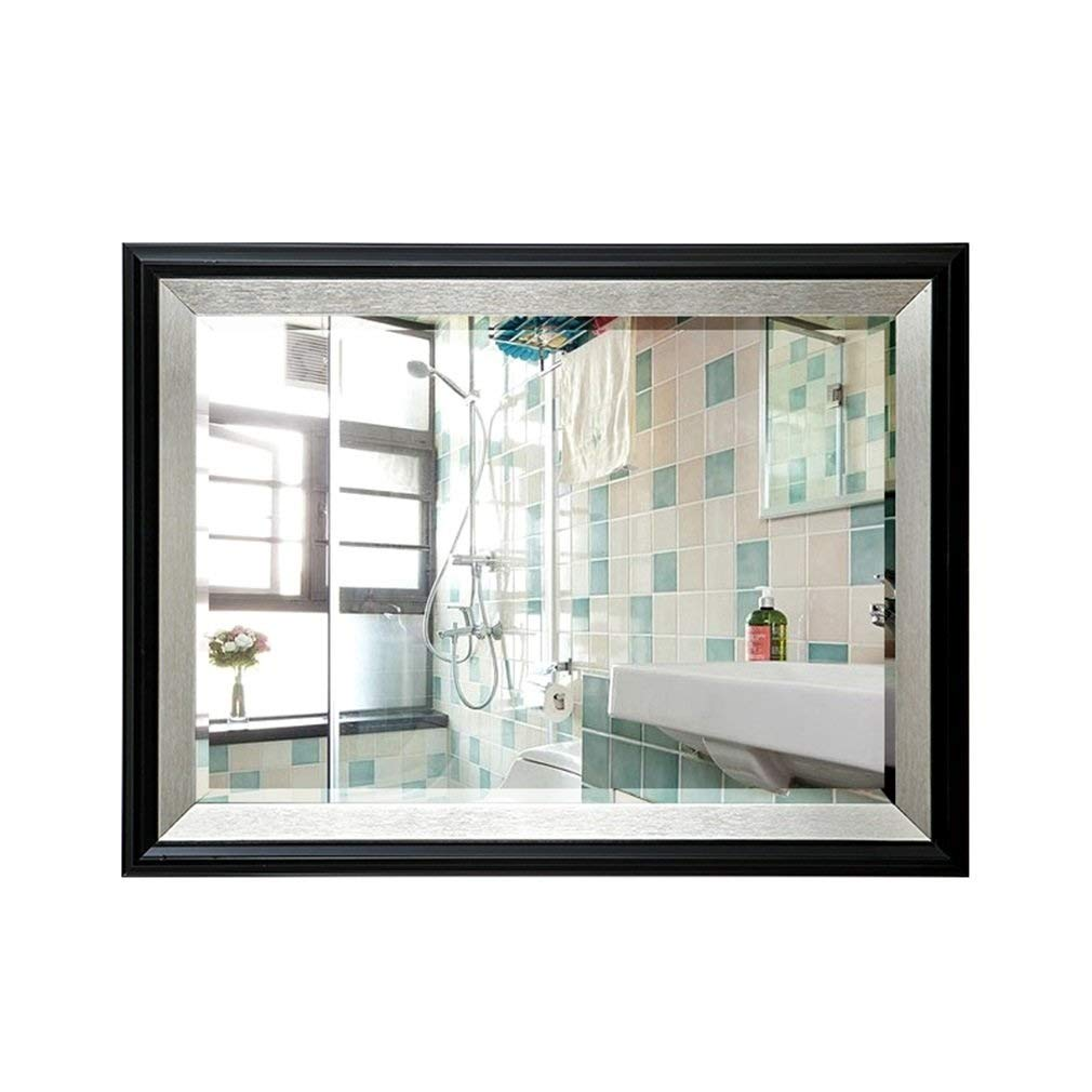 Mirror ZHILIAN& Makeup Creative Rectangular Home HD Dressing Simple Modern Multifunctional Decorative Bathroom