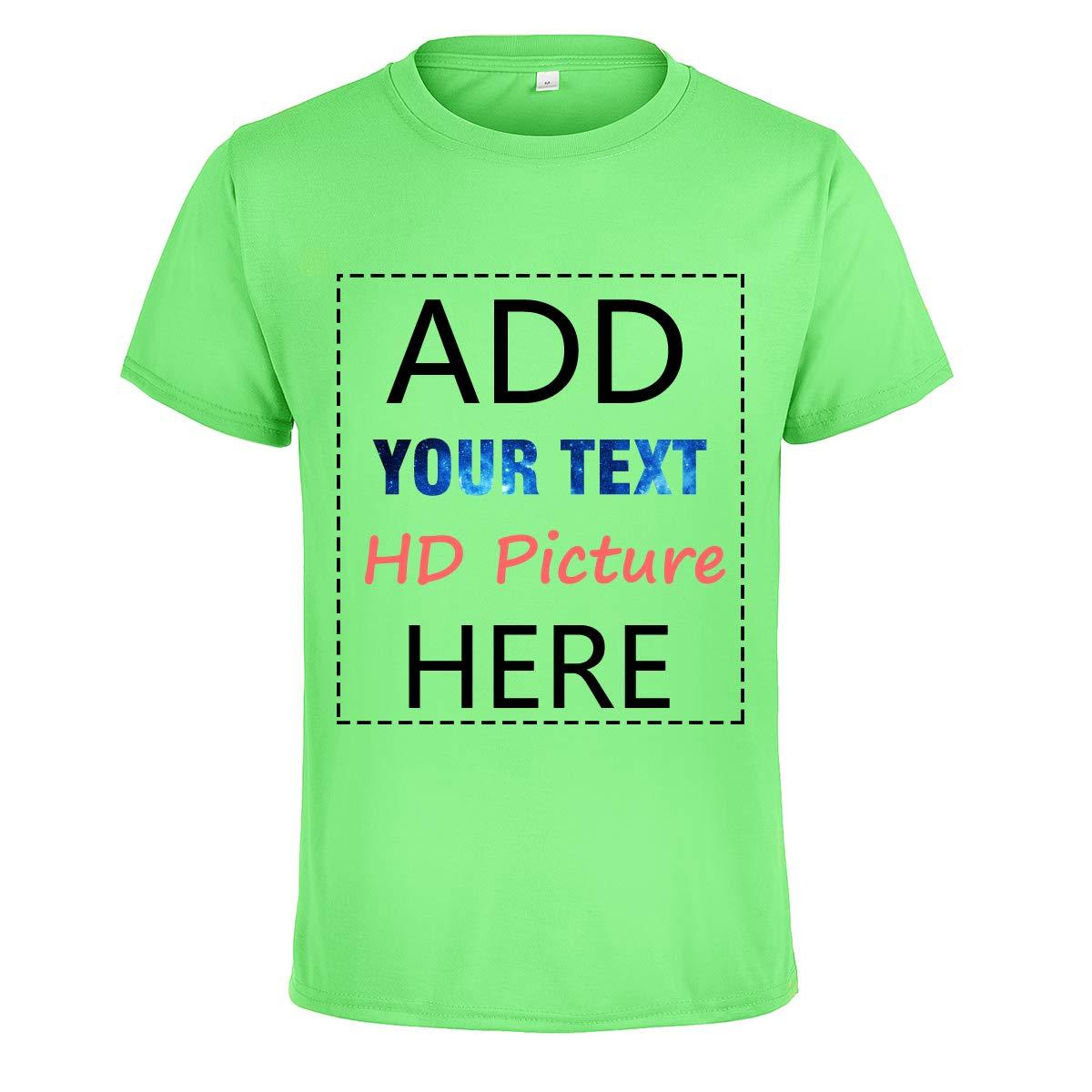 Amazon New Customized Diy T Shirt Print Your Own Design Photo