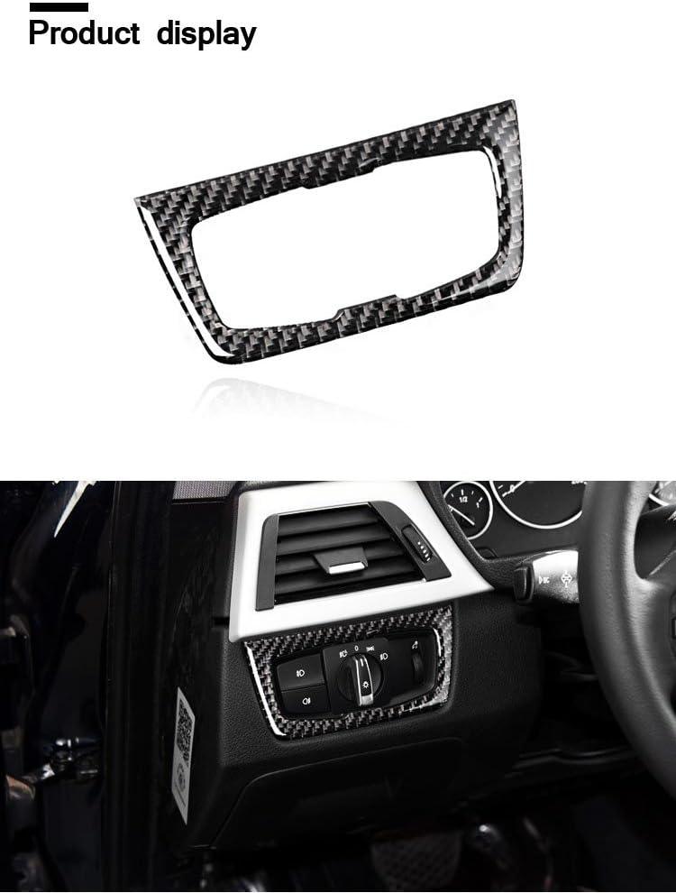 D/écoration int/érieure de voiture /à coller en fibre de carbone