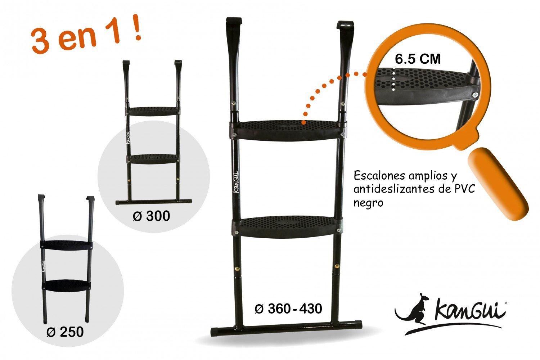 Escalera compatible para todas las camas elásticas redondas ...