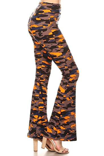 2141d38243a50 Leggings Depot Ultra Soft Popular Printed Stylish Palazzo Pants at ...