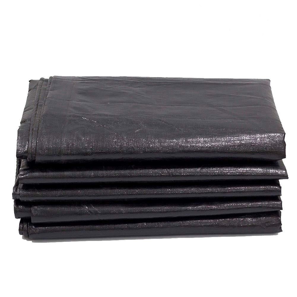 PENGFEI ターポリンタープパティオ 家具 雑巾 機械的保護 防錆 トラック屋根、 180G / M2、 サイズのカスタマイズ (色 : 黒, サイズ さいず : 9.8x9.8m) 9.8x9.8m 黒 B07K1QVJR2