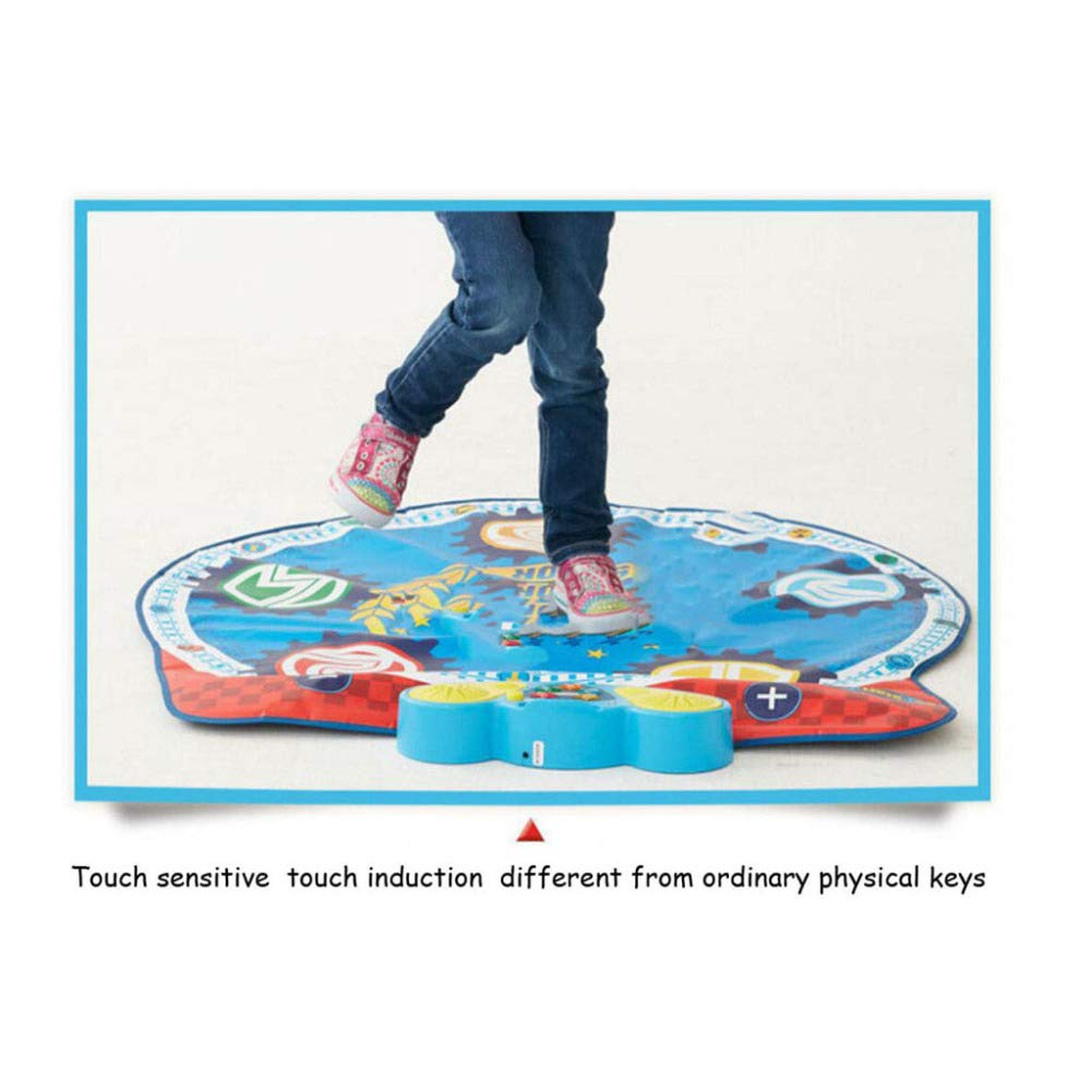 QXMEI Children's Early Education Toy Dance Mat Music Foot Dance Mat 9193 cm by QXMEI (Image #5)