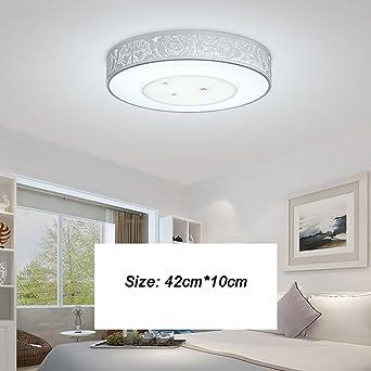Schon Mode Runde LED Modern Minimalist Gemütliche Deckenleuchte Wohnzimmer  Schlafzimmer Den Deckenleuchte Elegant ( Farbe : 2