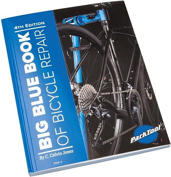 Park Tool BBB-4 BBB-4-Libro Azul Grande De Reparación De