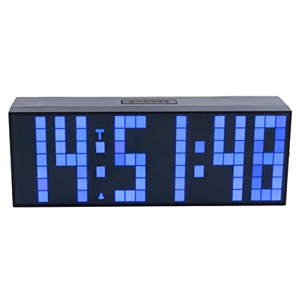 Reloj de pared digital LED de la alarma del temporizador ...