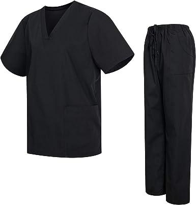 Uniformes Uno Pijamas Impermeable Unisex con Casaca y Pantalones Sanitarios