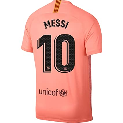 f2b78276d2f Amazon.com : Nike Barcelona 3rd Messi 10 Jersey 2018/2019 (Official ...