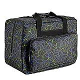 Homdox Sewing Machine Carrying Case Tote Bag - Universal Waterproof Black