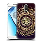 Official Magdalena Hristova Gold Mandala Hard Back Case for Motorola Moto G (3rd Gen)