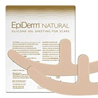 Epi-Derm Mastopexy (1 Pair) (Natural) Silicone Scar Sheets from Biodermis