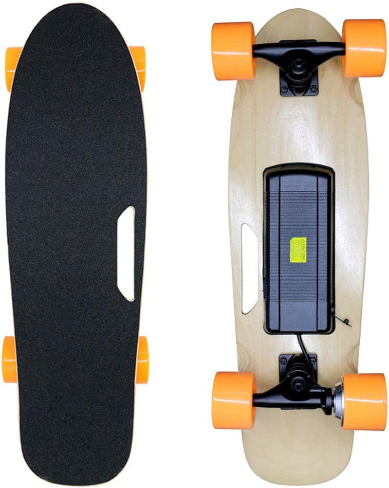 クルーザー スケートボード 電気の スケートボード250W モーター最速15KM / H耐久性15KM