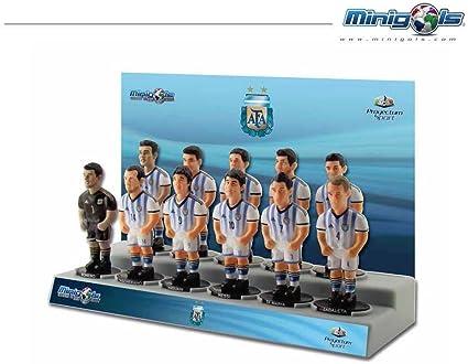 Figuras de equipo para futbolín Minigols - 5ARG-2014-2: Amazon.es: Deportes y aire libre