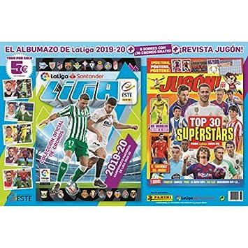 Panini Album + 6 Sobres + Revista JUGON Liga Este 2019 2020 LA ...