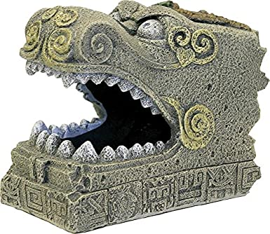 Rosewood serpiente cabeza tumba Acuario Decor: Amazon.es: Productos para mascotas