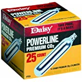 Daisy Outdoor Products 25 ct. CO2 (Silver, 12 gm)