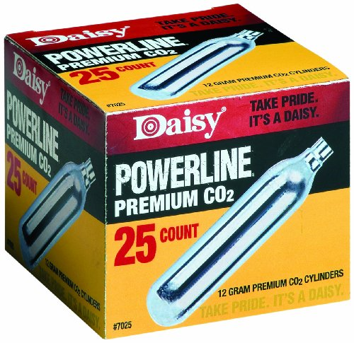 Daisy-Outdoor-Products-25-Count-CO2-Cylinder-Silver-12gm