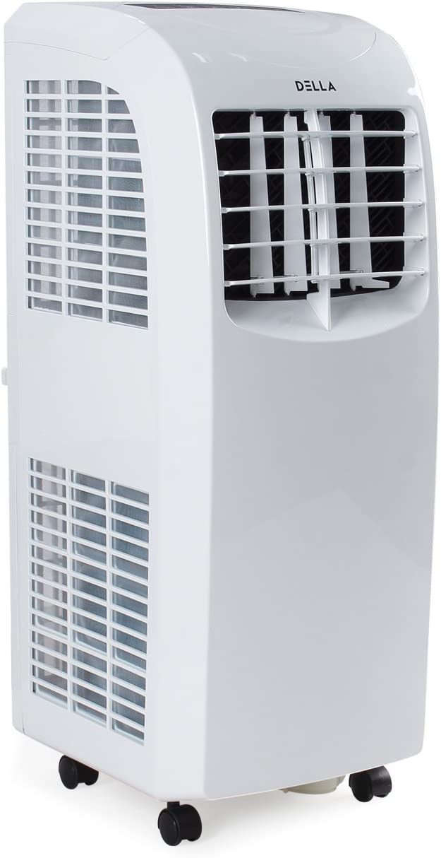 DELLA 8000 BTU Portable Air Conditioner - Fan ...