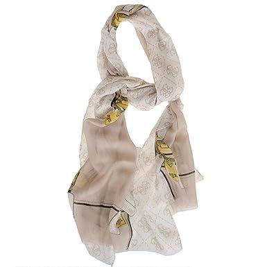 Guess - Foulard - Femme beige nude multi Medium  Amazon.fr ... 6fe162fbfae
