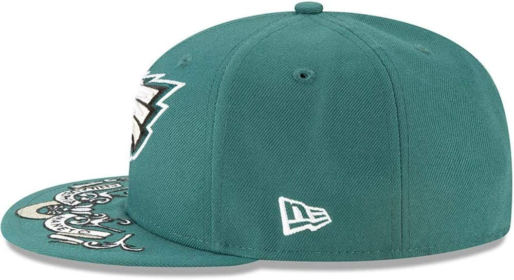 New Era Philadelphia Eagles 2019 NFL Draft Official On-Stage 59FIFTY Fitted Hat Green
