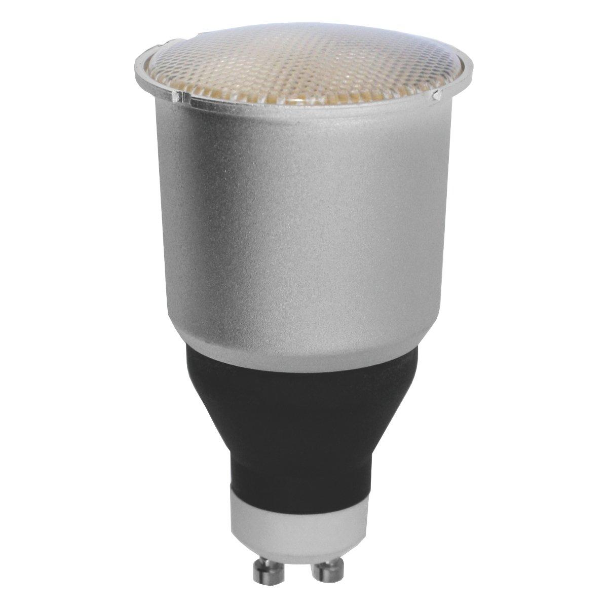Bombilla bajo consumo GU-10 9W Luz cá lida 2700K