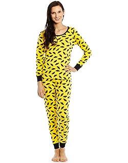 45c5fb17a26 Leveret Women s Pajamas Fitted Christmas 2 Piece Pjs Set 100% Cotton Sleep  Pants Sleepwear (