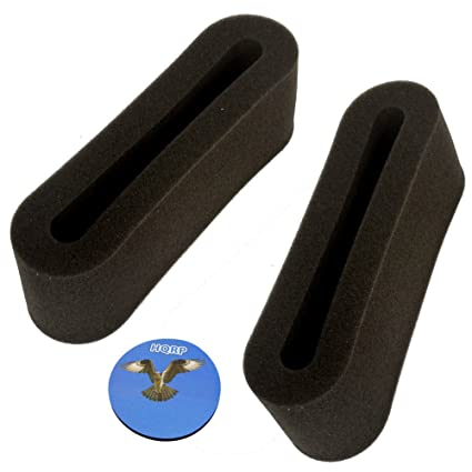 .com - hqrp 2-pack outer circular filters for bissell ...