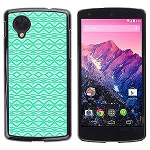 Exotic-Star ( Vibrant Native Pattern Wallpaper ) Fundas Cover Cubre Hard Case Cover para LG Google NEXUS 5 / E980 /D820 / D821