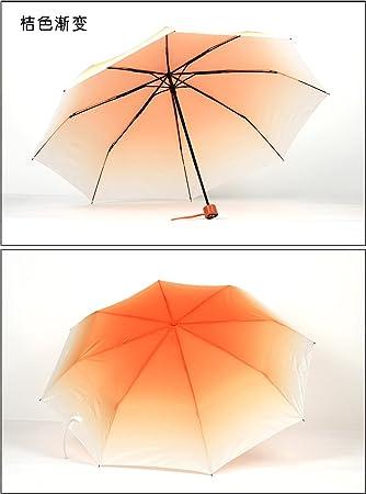 LybCvad paraguas paraguas Color sombrilla paraguas farbregenschirm la regenbogenfarbigen Multicolor arcoíris del Paraguas de colores del