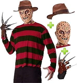 Pesadilla en Elm Street - Disfraz de Freddy Krueger, para adultos ...