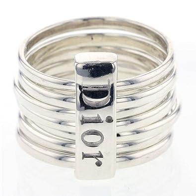 low priced 3d993 6fbc7 Amazon.co.jp: (ディオール)Dior 7連 13.5号 リング・指輪 ...