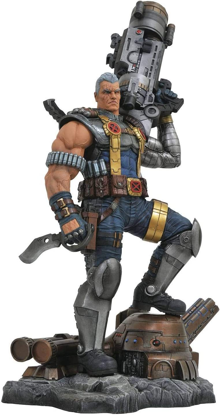 DIAMOND SELECT TOYS Marvel Premier Collection: Cable Resin Statue