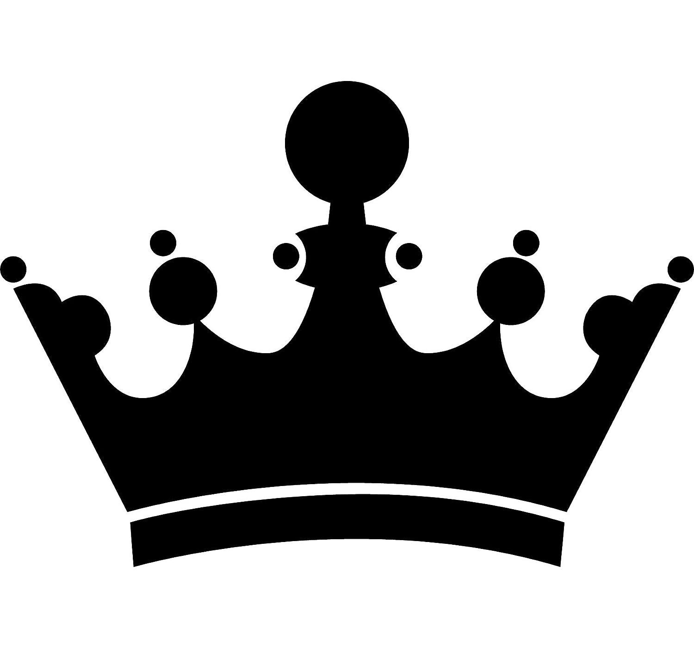 Krone Schablone, Vorlage, wiederverwendbar mit mehreren Größen ...