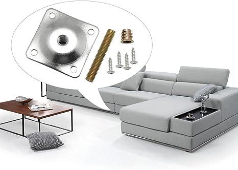 Amazon.com: dreamtop Pierna montaje de placas Muebles Pierna ...