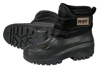 PFIFF térmica de schoenen, Negro, 41/42EU