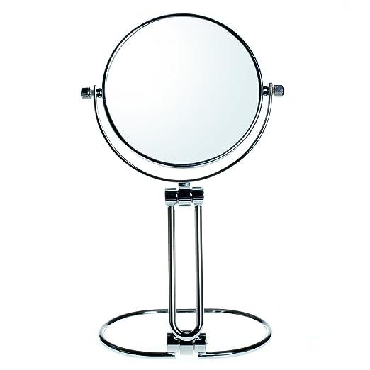 3 opinioni per HIMRY® Doppia Faccia Specchi pieghevole da Trucco, Ingranditori 10X Con