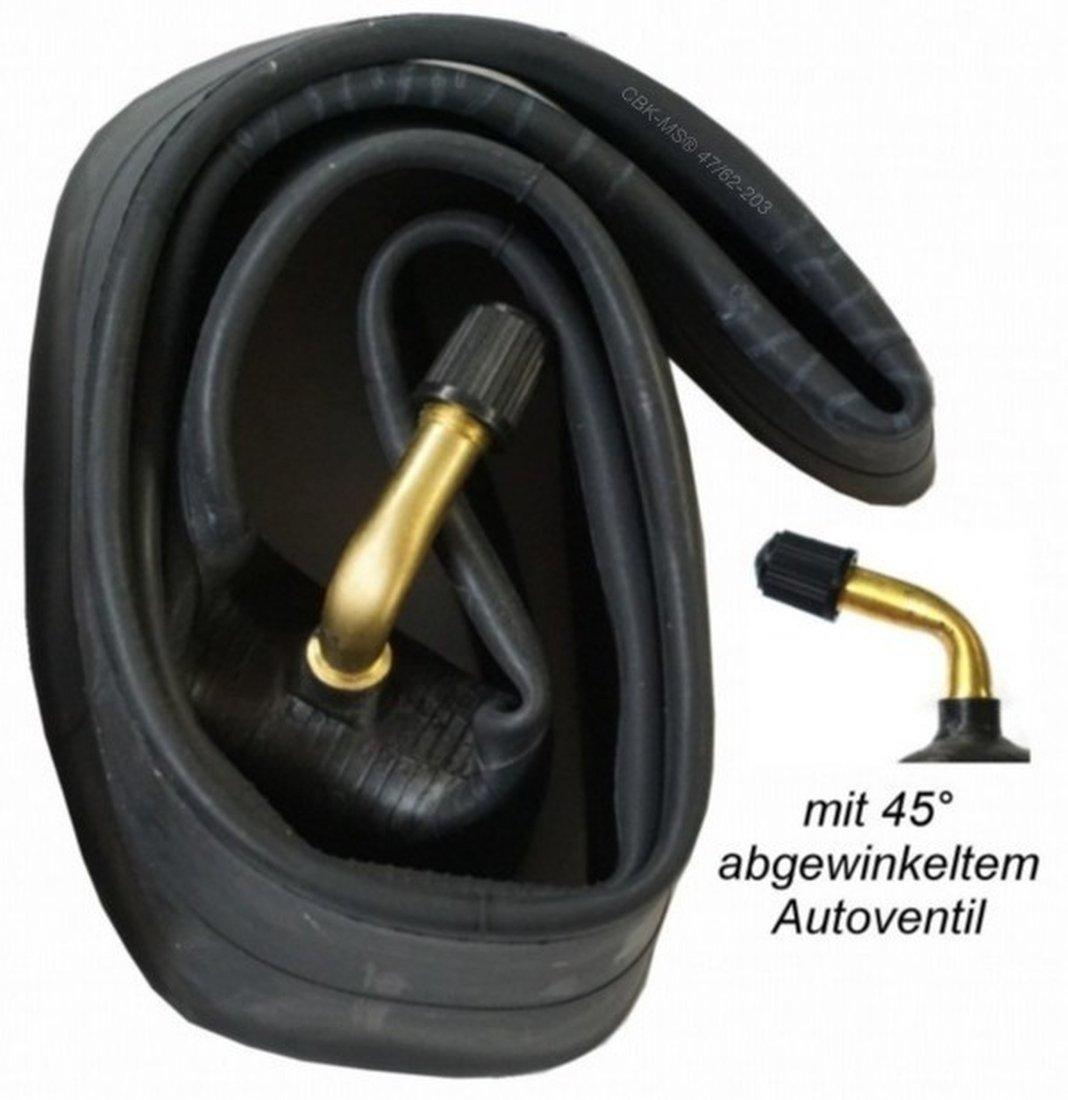 Schlauch mit 45/° Winkel Autoventil Kinderwagen Roller Dreirad Laufrad Fahrrad Anh/änger 2x 12 12 1//2 x 2 1//4 = 62-203 CBK-MS/® Leichtlauf Reifen