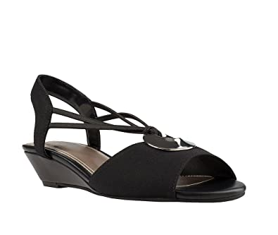 3232439be18e Impo Rosalba Stretch Wedge Sandal