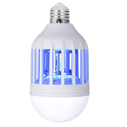 Sunnest Electronic Insect Killer, Bug Zapper Light Bulb, Mosquito Killer  Lamp, Mosquito Zapper