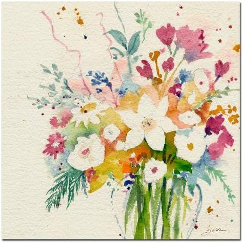Dream Bouquet Canvas Wall Art