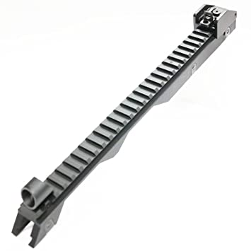 Airsoft Jing Gong Carrying Handle Upper Cover Rail for Tokyo